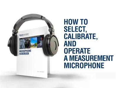 Download PCB Piezotronics's Free Microphone Handbook