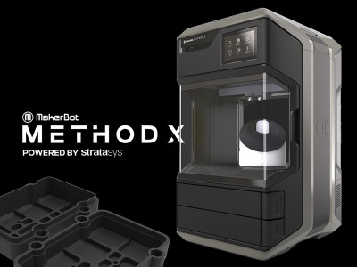 MakerBot Launches METHOD X Real ABS 3D Printer with Manufacturing Support