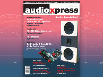 audioXpress September 2019 Speaker Focus Edition Now Available