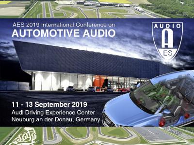 AES International Automotive Audio Conference Announces Details for 2019 Events