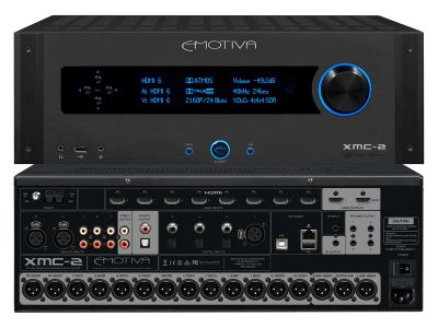Emotiva Audio Debuts XMC-2 16-channel A/V Processor Supporting Dolby Atmos and DTS:X Object-Oriented Sound Formats