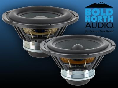 F Fityle 2X 5inch 125mm R/éparation Audio de Bord du Woofer Our R/éparation des Enceintes Bricolage