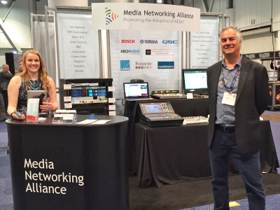 Media Networking Alliance Promotes Biggest AES67 Live Demo at NAB 2016