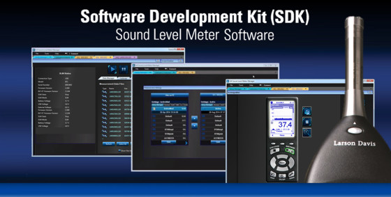 Larson Davis Launches New SDK for Sound Level Meter Control with ...