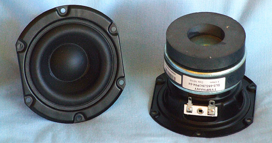 """Test Bench - Tymphany Peerless SLS-85S25CP-04-04 3 5"""" Woofer"""