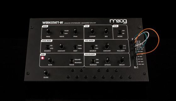 Moog Releases Werkstatt-01 Analog Synth Kit With Online