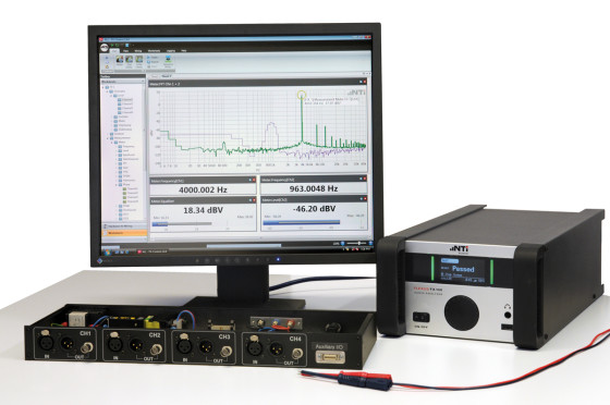 Easy Testing of Class-D Amplifiers with NTi Audio | audioXpress