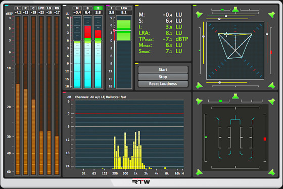 RTW Mastering Tools Plugin Makes US Debut at AES 2014 | audioXpress