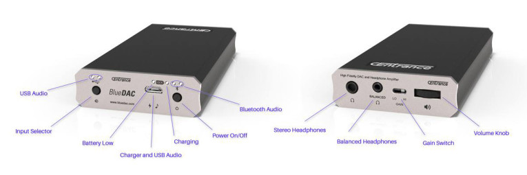 CEntrance Announces BlueDAC Wired and Wireless Portable DAC