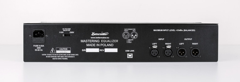 Transaudio Group Introduces the Bettermaker Mastering Equalizer
