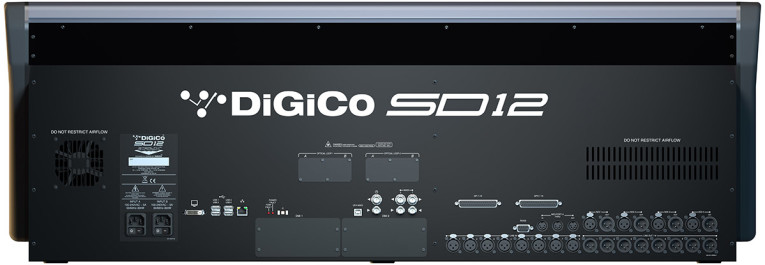 DiGiCo Reveals SD12 Compact Multi-Application Digital Mixing