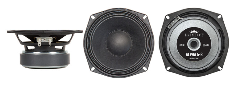 Also New To The American Standard Series Of Professional Audio Loudspeakers  Is The Alpha 5. As With All Other Alpha Series Models, The 8 Ohm Alpha 5  Offers ...