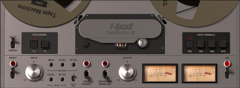 IK Multimedia New T-RackS Tape Machine Plug-In Collection