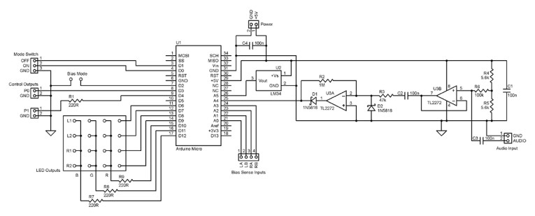 Extending the Arduino-Based Tube Power Amplifier Controller