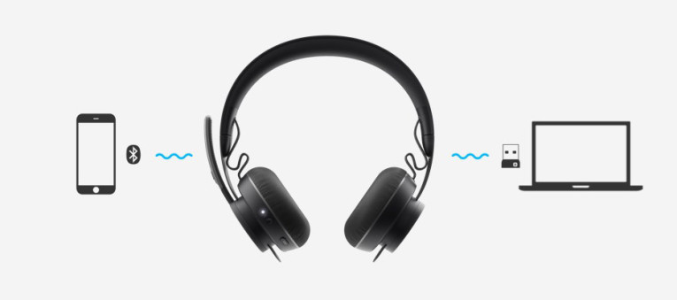Logitech Introduces ANC-Equipped Zone Wireless Headset
