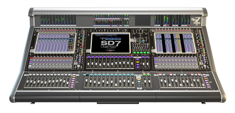 DiGiCo Introduces New SD7 Quantum Flagship Digital Mixing Console at