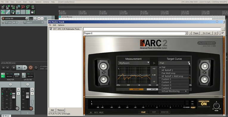 Fresh From the Bench: IK Multimedia ARC 2 5 Advanced Room