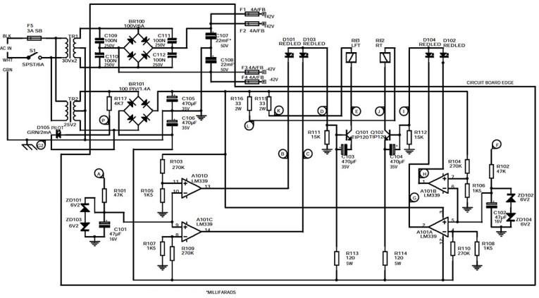 a 50w  channel composite amplifier