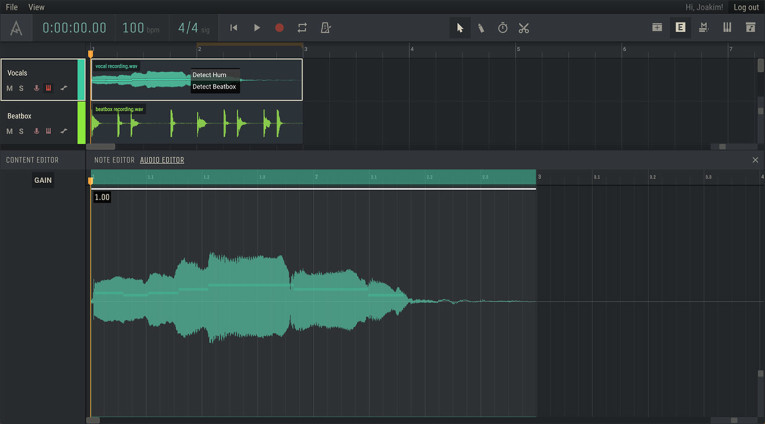Amped Studio 20 Online Music Production Daw Adds Pitch And Beat To