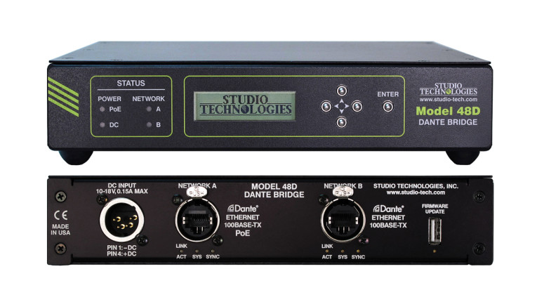 Studio Technologies Expands Audio-over-Ethernet Networking