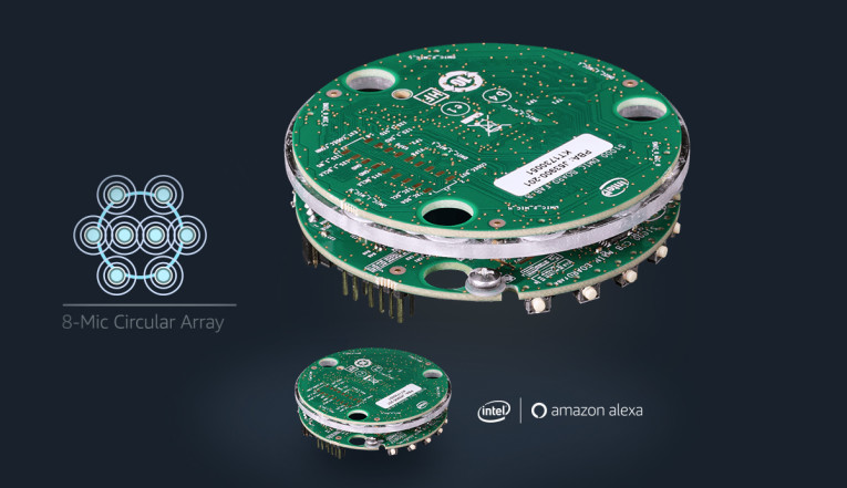 Intel Announces New Development Kit for Far-Field Alexa