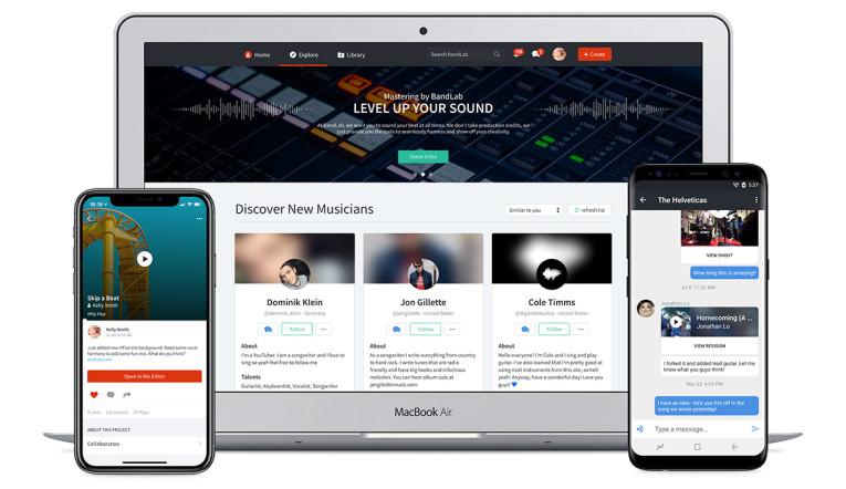 Social Music Platform BandLab Technologies Buys What's Left