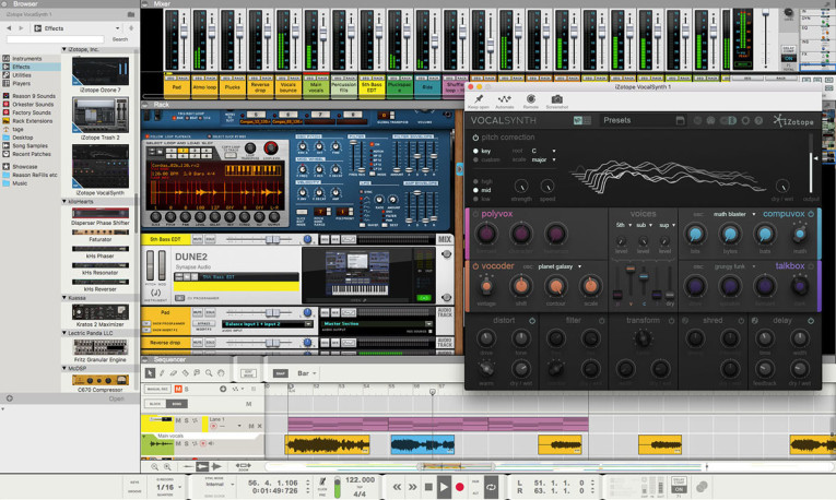 Propellerhead Releases Free Reason 9 5 Update with VST Support