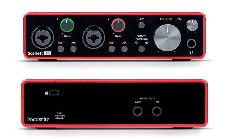 Focusrite Announces New Generation of Scarlett Audio Interfaces with