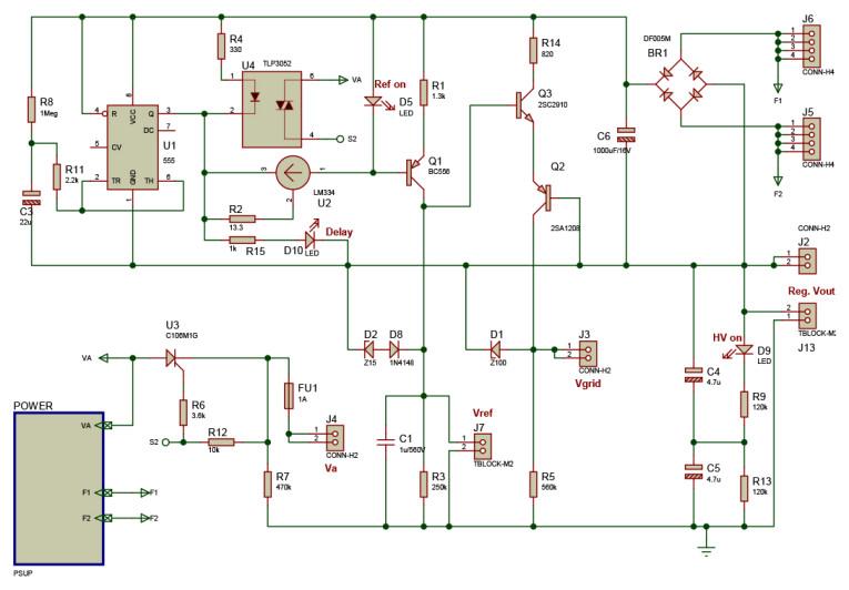 T-reg: A High-Voltage Regulator for Tube Amps | audioXpress
