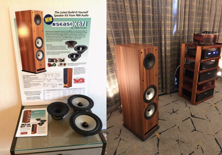 New PBN Audio CX871 Speaker Kit with SEAS Drivers Now