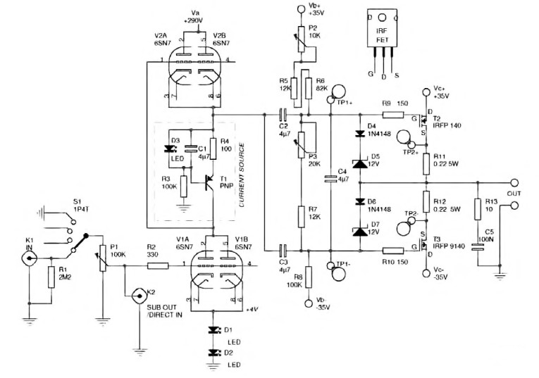 Amplifier War and Peace - An Hybrid Amp | audioXpress