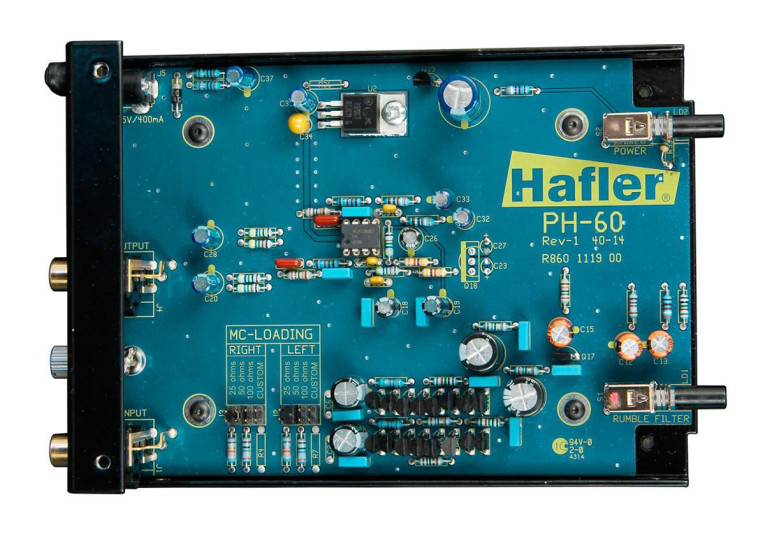 A Review of Hafler's PH50 and PH60 Phono Preamps and the PH44 Moving