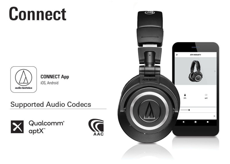 Audio-Technica Introduces ATH-M50xBT Wireless Over-Ear