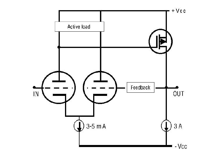 build a hybrid tube  mosfet se amp