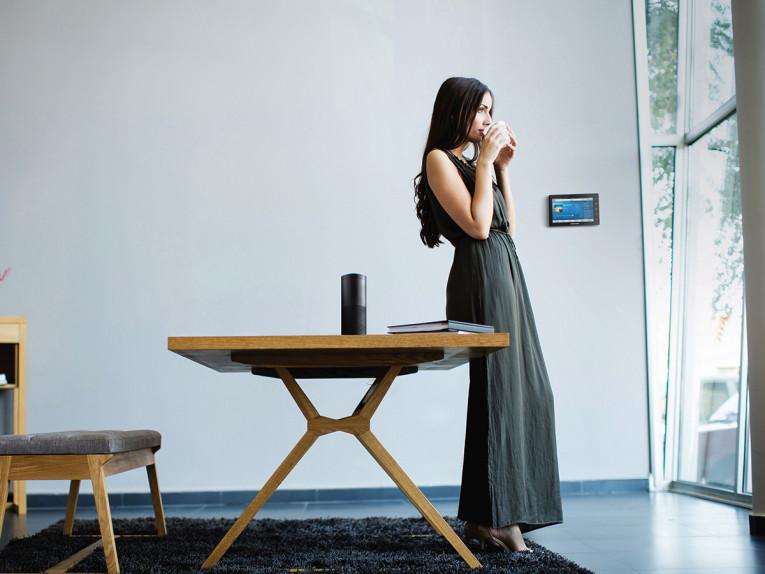 crestron delivers whole home voice control via amazon alexa