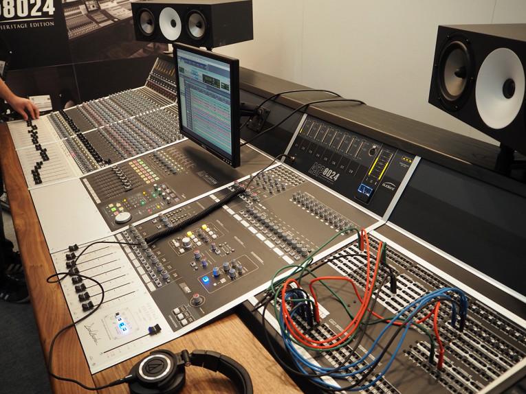 Audient Introduces ASP8024 Heritage Edition Studio Mixer at