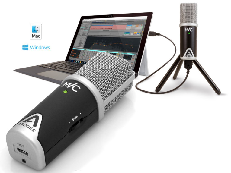 Apogee Electronics Announces MiC 96k for Windows and Mac | audioXpress