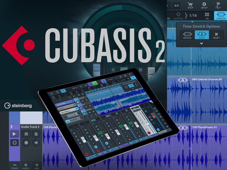 Steinberg Makes Music Production on iPad even More Powerful with New