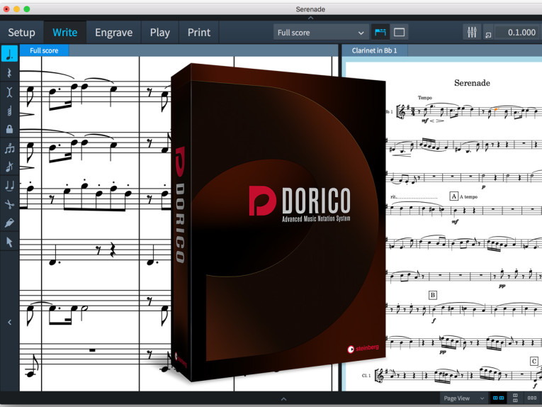 Steinberg Unveils Dorico Music Notation Software | audioXpress