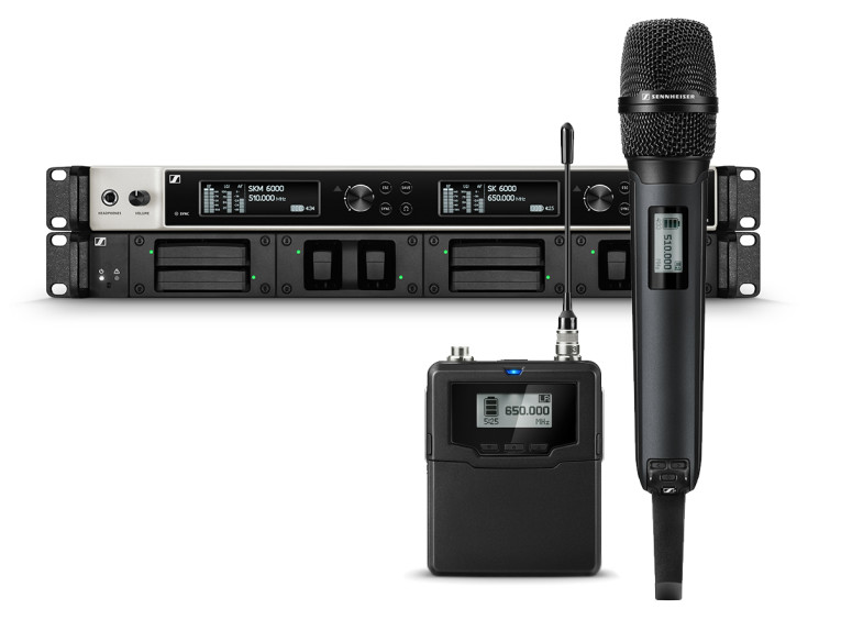 sennheiser digital 6000 microphone wireless system is shipping now audioxpress. Black Bedroom Furniture Sets. Home Design Ideas