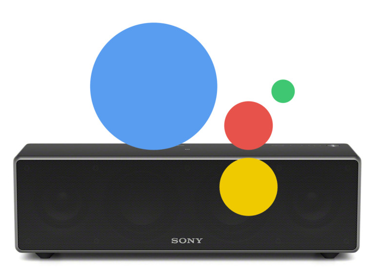 Sony Announces Google Assistant on Google Home Support for Audio and