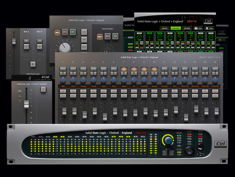SSL Announces New Features for Sigma δelta Remote Controlled