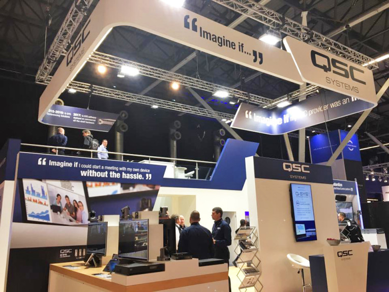 QSC Promotes Demonstration of Q-SYS Software Running on Standard