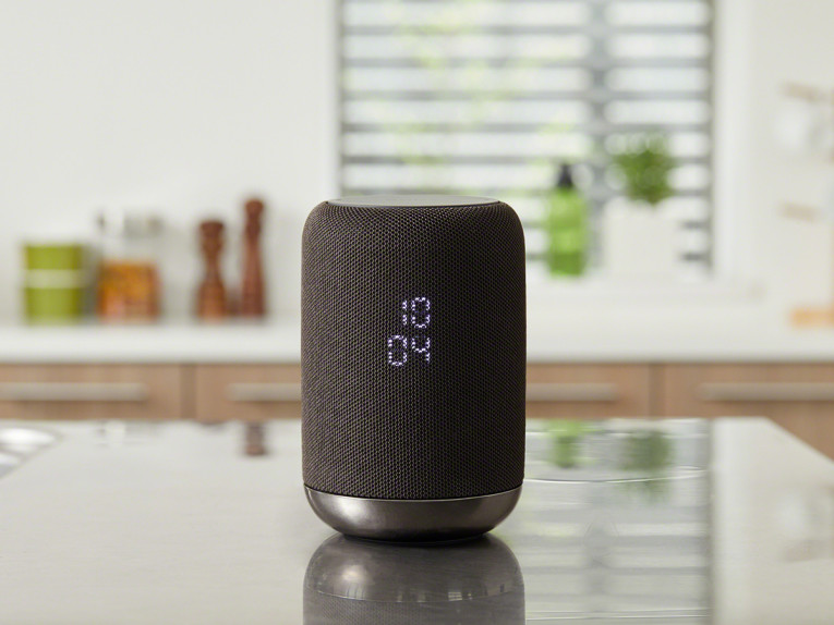 The New Sony LF S50G Is A Wireless Speaker That Can Be Used Smartly In The  Kitchen With Handy Clock Functionality And Is IPX3 Splash Proof Design With  A ...
