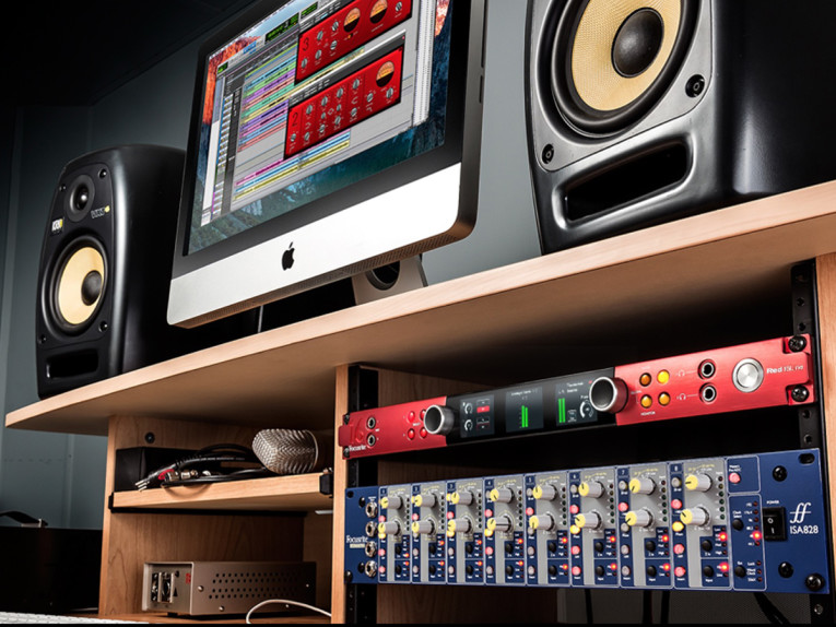 New Focusrite Red 16Line 64x64 Pro Tools HD and Dual
