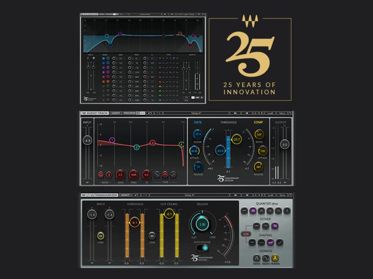 Waves Audio Celebrates 25 Years of Innovation in Digital Audio