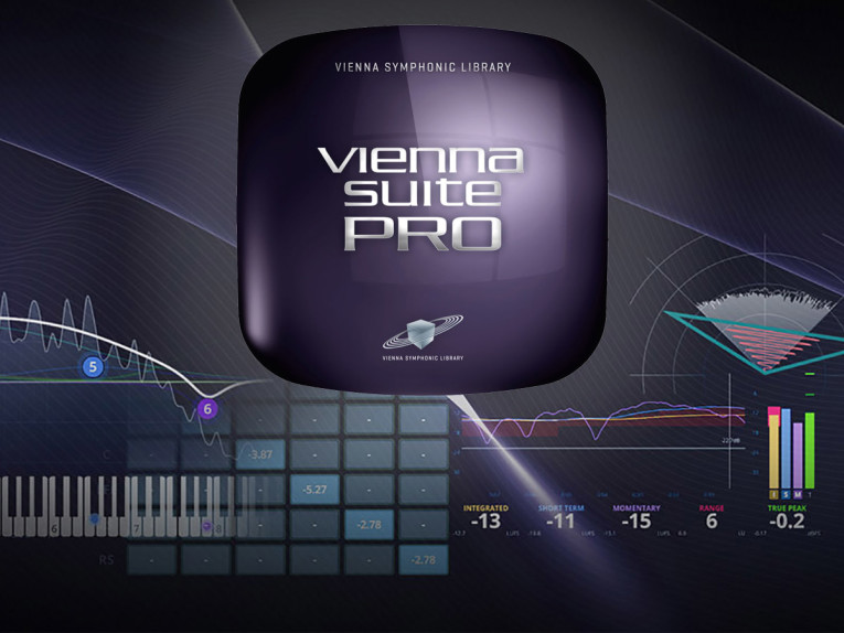 Vienna Suite Pro High-Precision Stereo and Surround Audio Plug-Ins