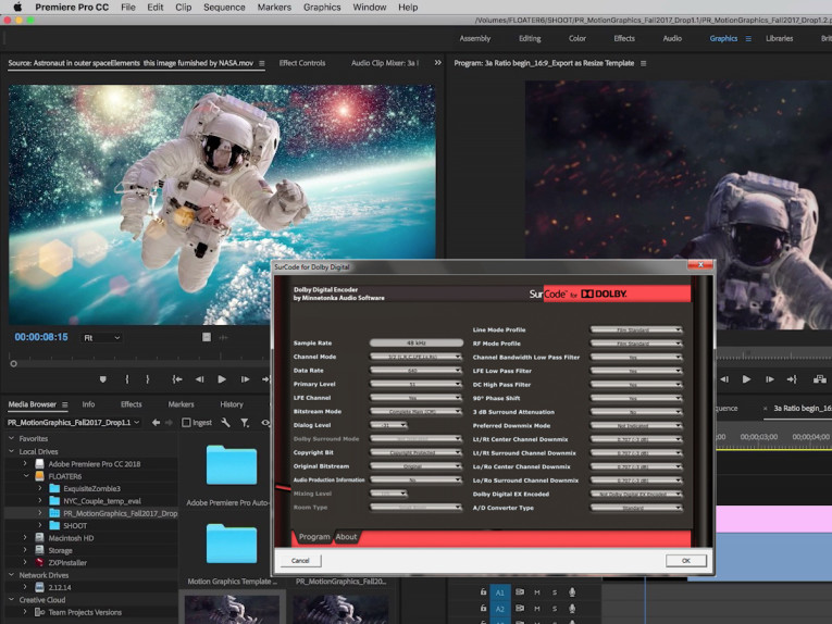 SurCode for Dolby Digital Plus 5 1 Encoder Now Available for Adobe
