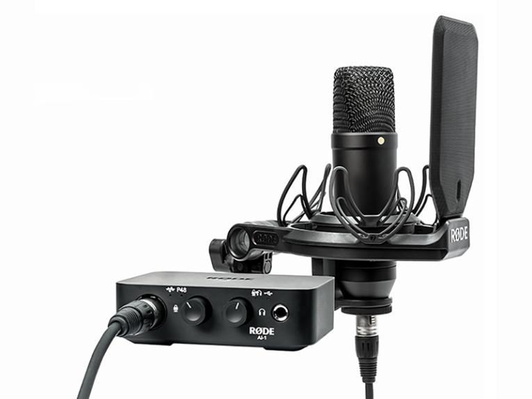 RØDE Microphones Unveils AI-1 USB Type-C Audio Recording