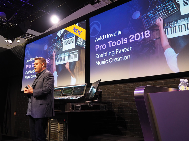 Avid Unveils Pro Tools 2018 and Multiple Music and Audio